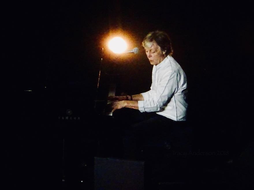 Paul McCartney Piano Freshen Up Tour Rogers Place Sept 30 2018