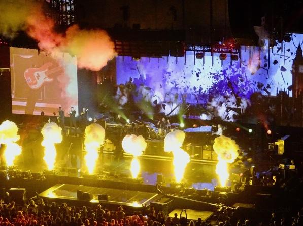 Paul McCartney Pyro Freshen Up Tour Rogers Place Sept 30 2018