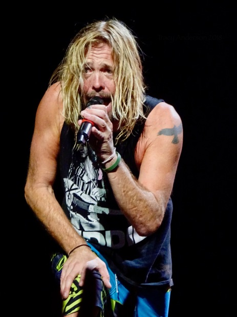Taylor Hawkins Singing Foo Fighters Concrete and Gold Tour Rogers Place Edmonton Oct 22 2018