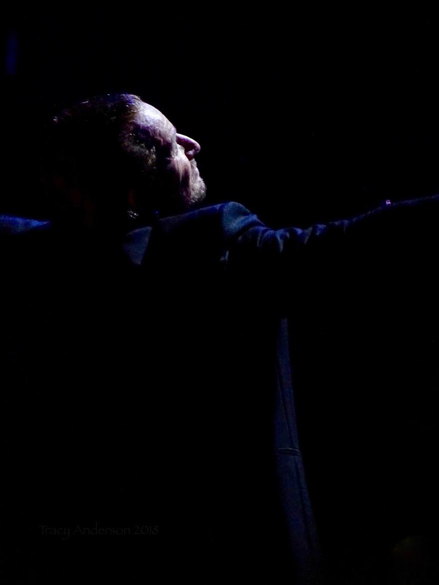 Bono Back Profile U2 Dublin 3 3Arena Nov 9 2018