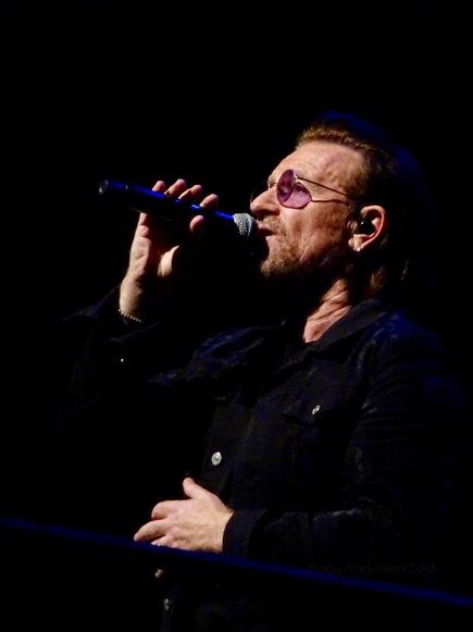 Bono Close Up U2 Dublin 2 3Arena Nov 6 2018
