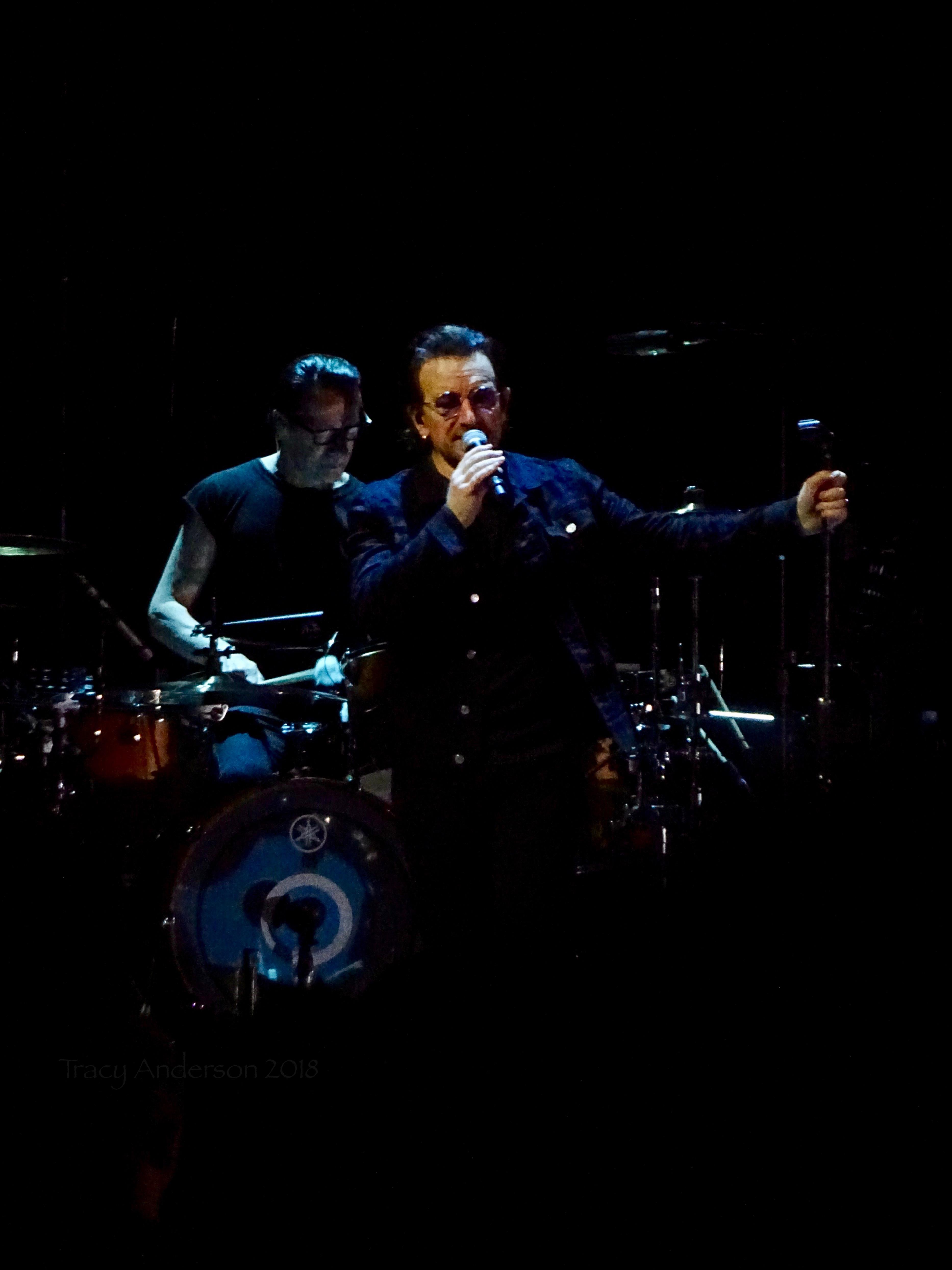 Bono Larry U2 Dublin 4 3Arena Nov 10 2018