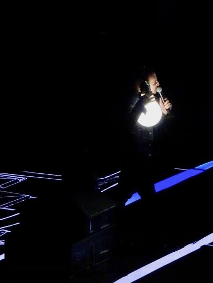 Bono Lightbulb U2 Berlin Mercedes Benz Arena Nov 13 2018