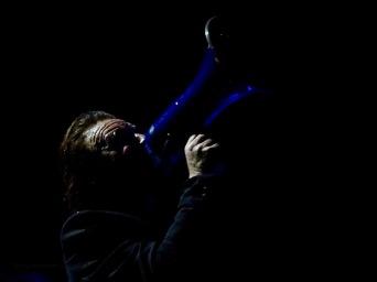 Bono Megaphone U2 Dublin 4 3Arena Nov 10 2018