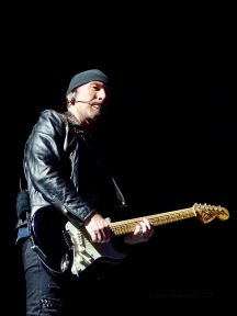 Edge 3:4 profile U2 Dublin 3 3Arena Nov 9 2018