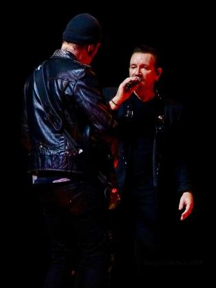 Edge Bono U2 Dublin 4 3Arena Nov 10 2018