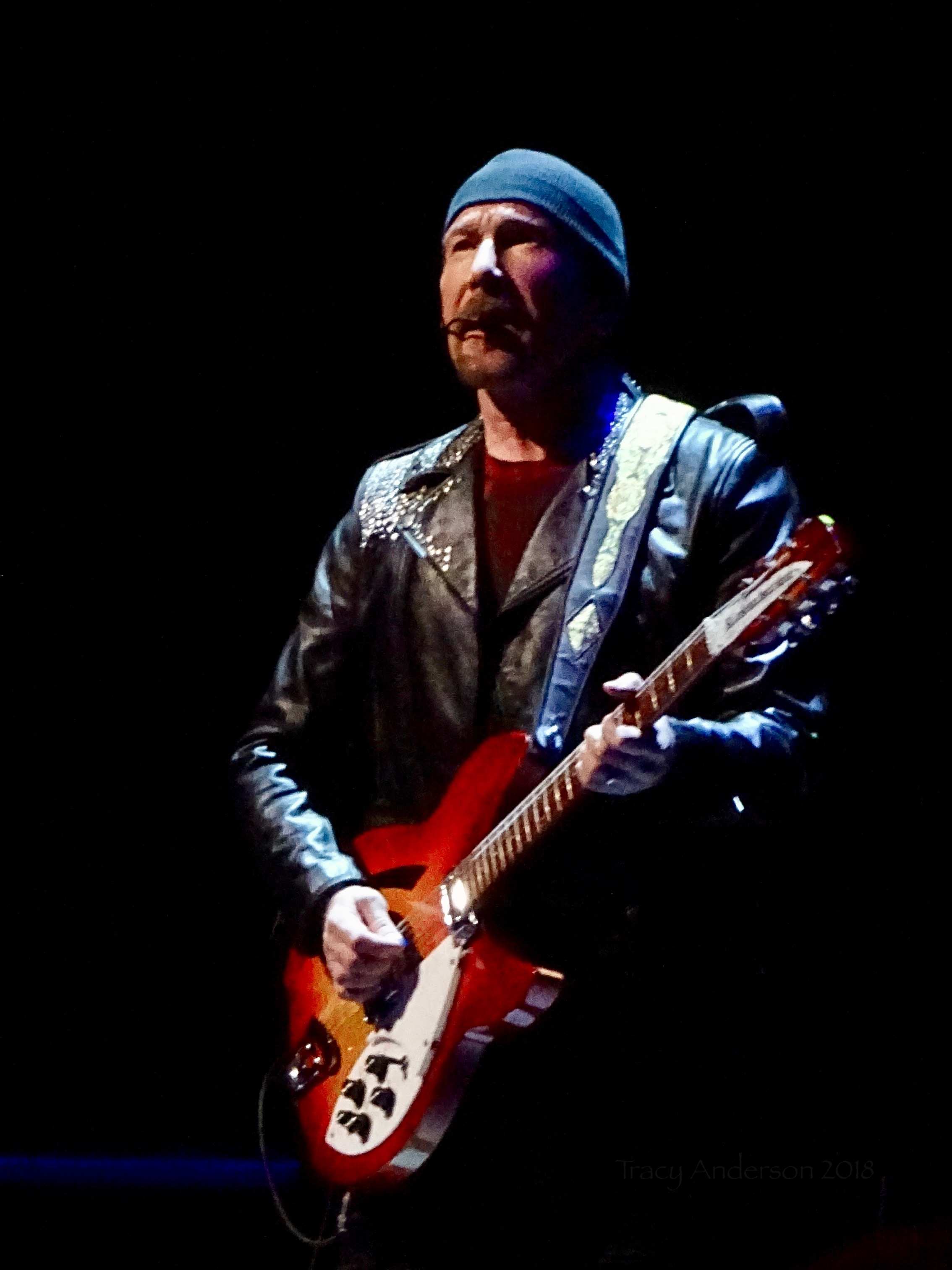 Edge Close Up U2 Dublin 1 3Arena Nov 5 2018
