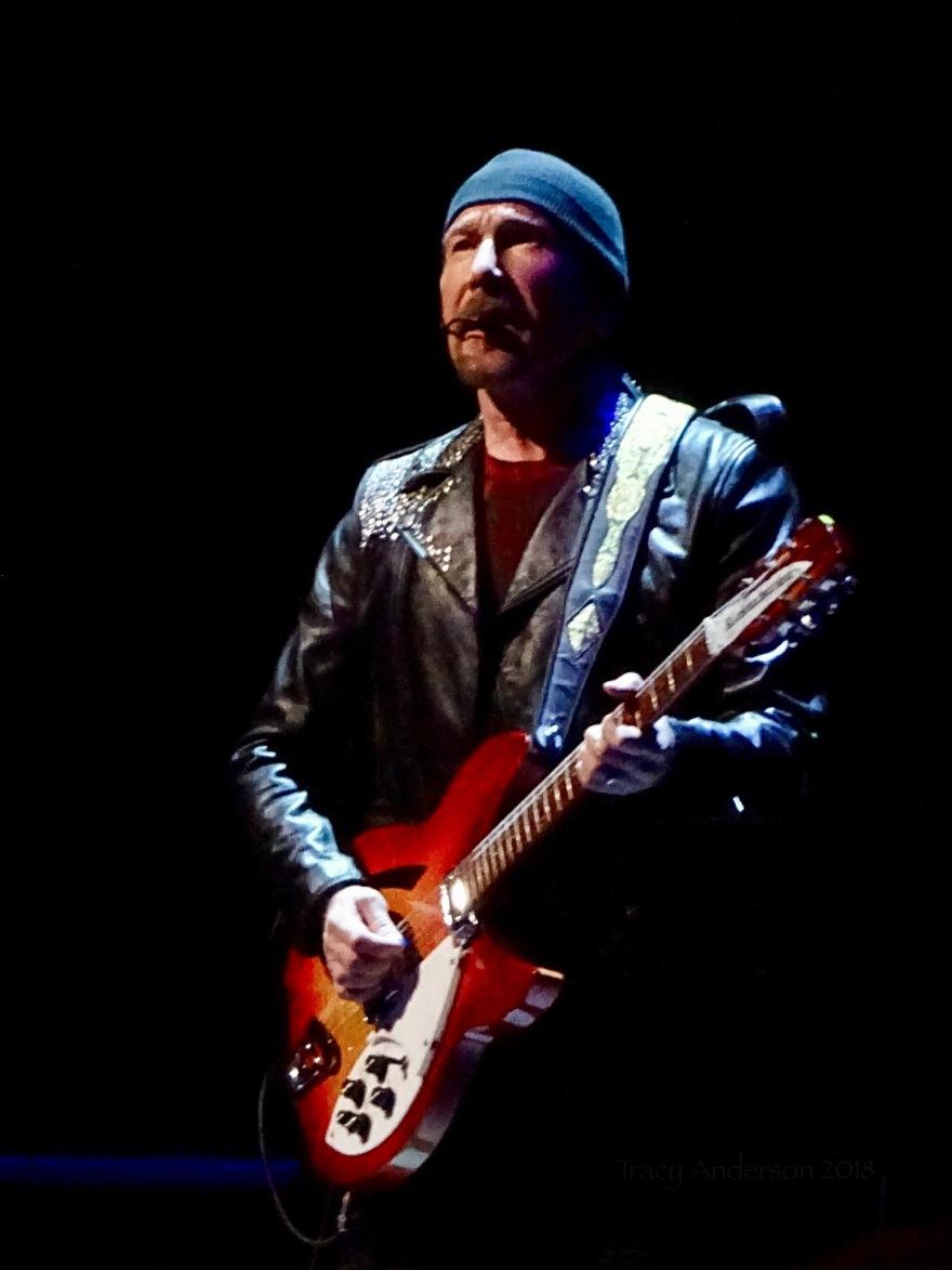 Edge Close Up U2 Dublin 1 3Arena Nov 5 2018