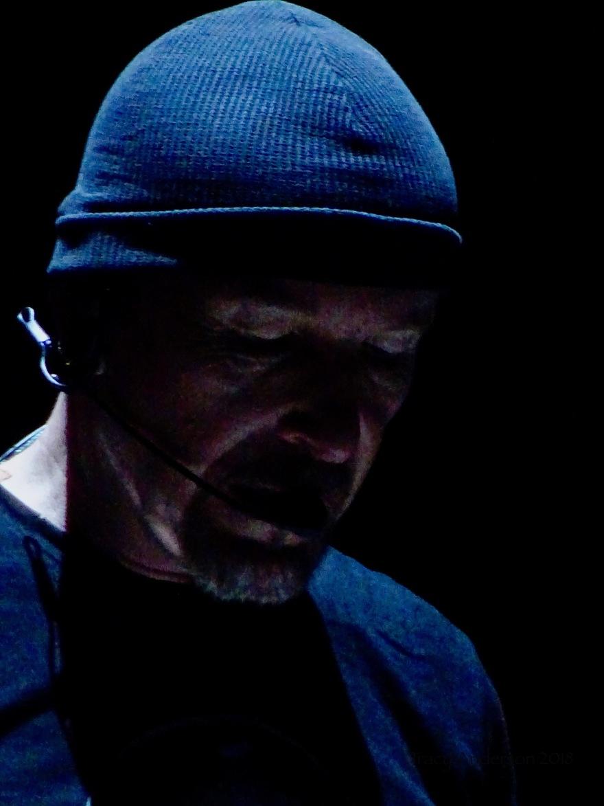 Edge Close Up U2 Dublin 3 3Arena Nov 9 2018