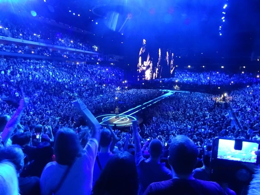 U2 Blue E Stage Berlin Mercedes Benz Arena Nov 13 2018