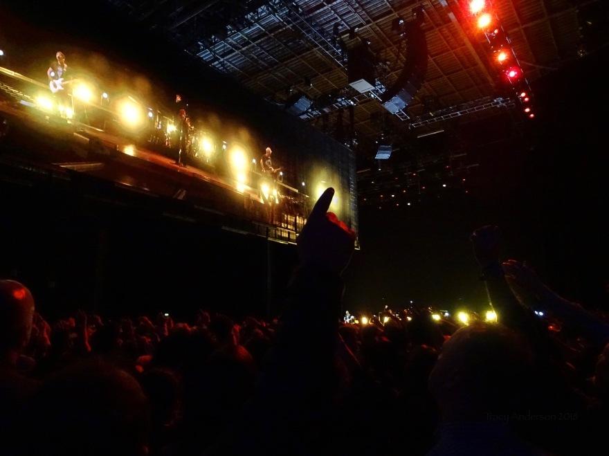 U2 Crowd Dublin 2 3Arena Nov 6 2018