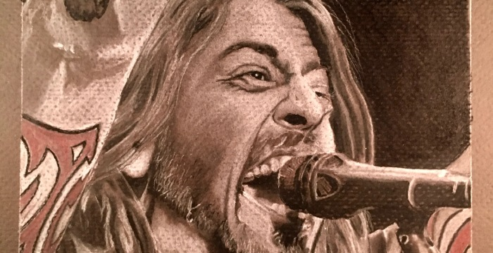 The Pinnacle of Rock God-ness, Dave Grohl