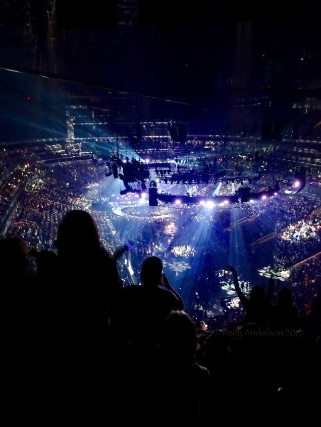 Justin Timberlake crowd Rogers Place Feb 6 2019
