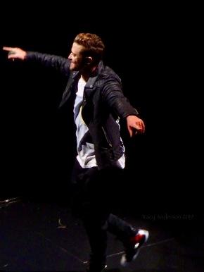 Justin Timberlake dance Rogers Place Feb 6 2019