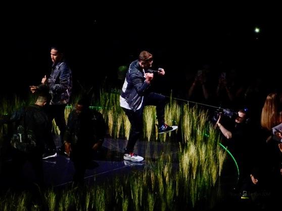 Justin Timberlake Grass Rogers Place Feb 6 2019