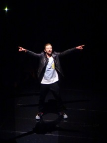 Justin Timberlake shadows Rogers Place Feb 6 2019