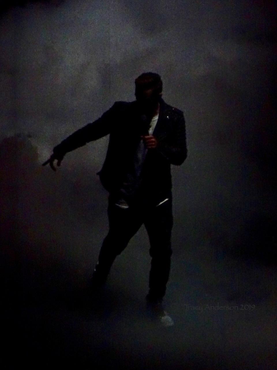 Justin Timberlake Man Of The Woods Smoke Rogers Place Feb 6 2019