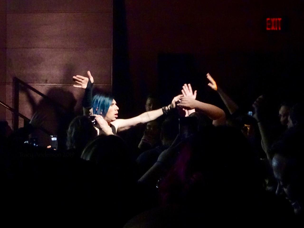 Josh Ramsay In The Crowd Marianas Trench Suspending Gravity Tour Edmonton Northern Alberta Jubilee Auditorium Mar 26 2019