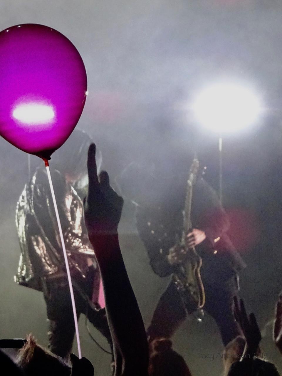 Marianas Trench balloons Suspending Gravity Tour Edmonton Northern Alberta Jubilee Auditorium Mar 26 2019