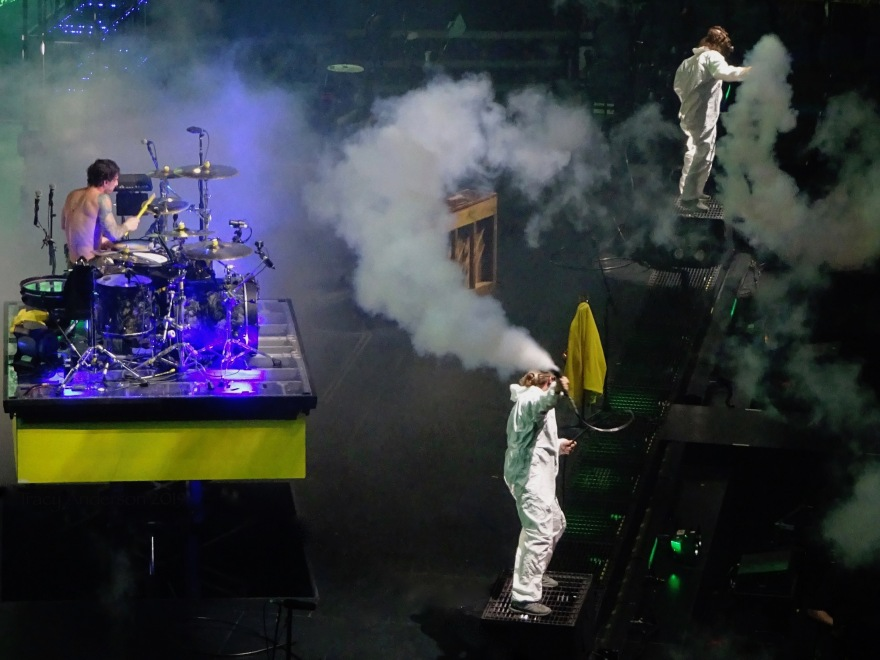Josh Dun Stage Twenty One Pilots Bandito Tour Scotiabank Saddledome Calgary May 14 2019