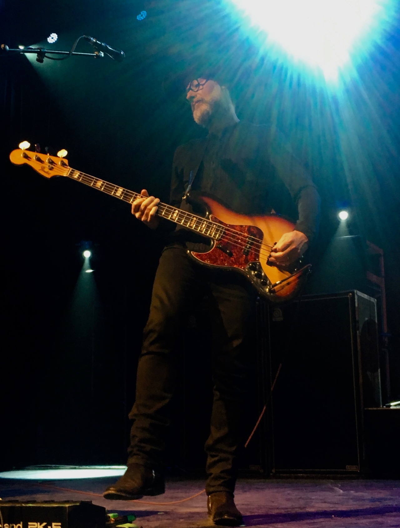 Stuart Chatwood Bass Guitar The Tea Party Black River Tour May 4 2019