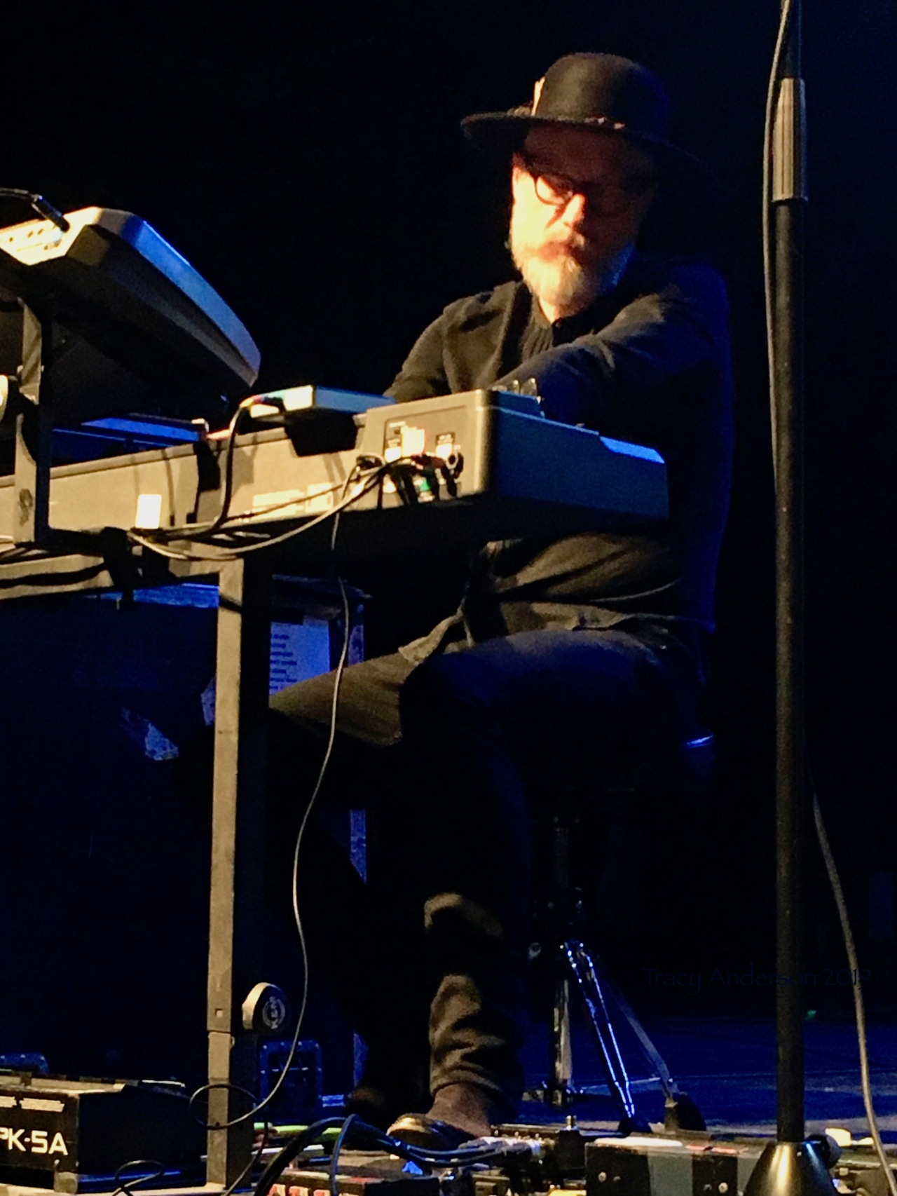 Stuart Chatwood Keyboard The Tea Party Black River Tour May 4 2019