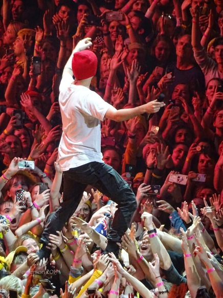 Tyler Joseph On The Crowd Twenty One Pilots Bandito Tour Scotiabank Saddledome Calgary May 14 2019