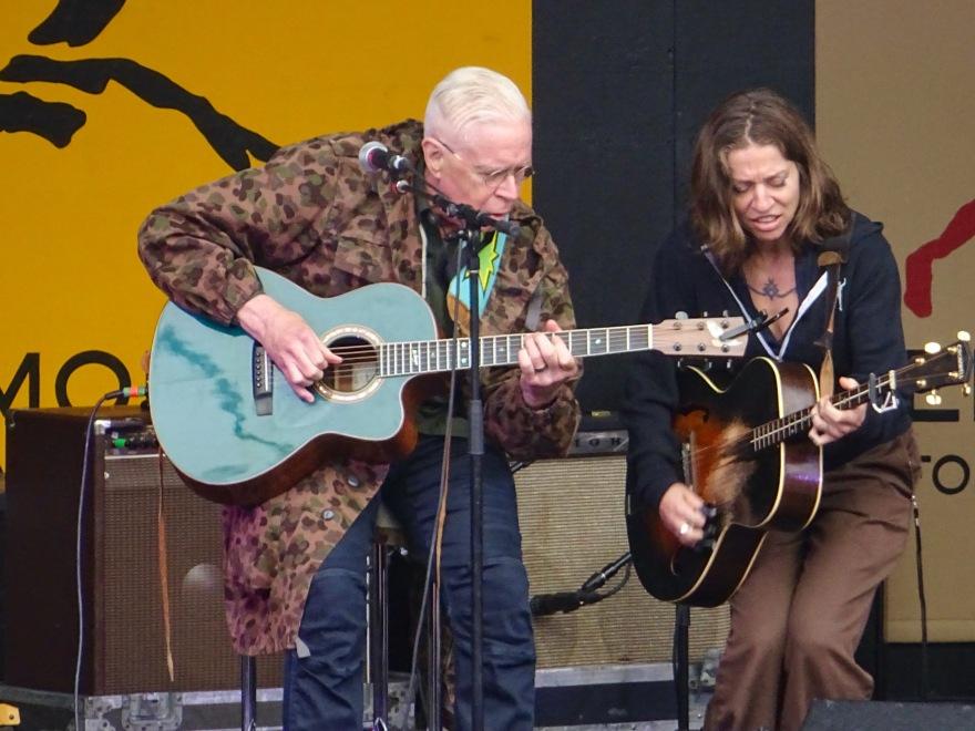 Bruce Cockburn and Ani DiFranco Edmonton Folk Fest 2019