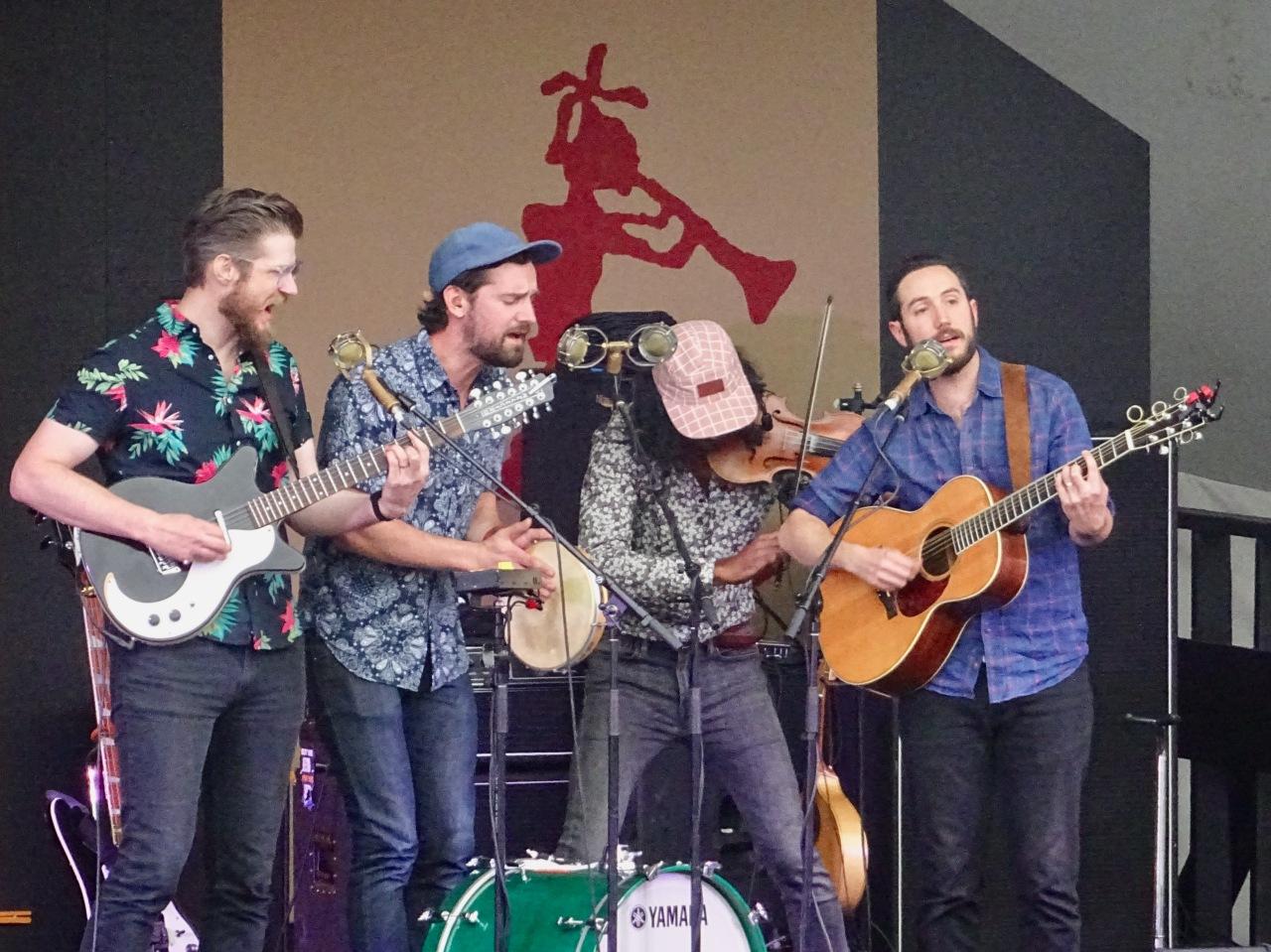 Darlingside Edmonton Folk Fest 2019