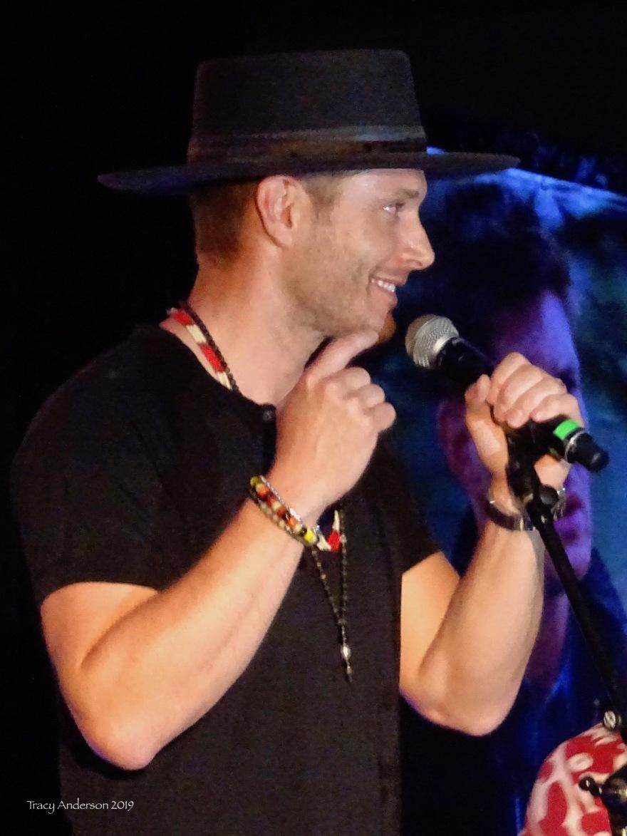 Jensen Ackles with Louden Swain SPNVan Con Aug 23-25 2019