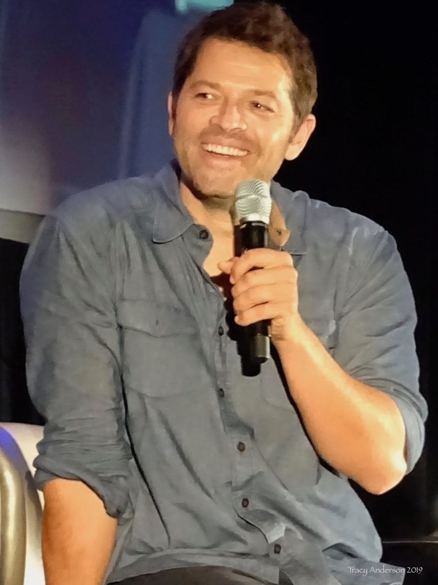 Misha Collins Laugh SPNVan Con Aug 23-25 2019