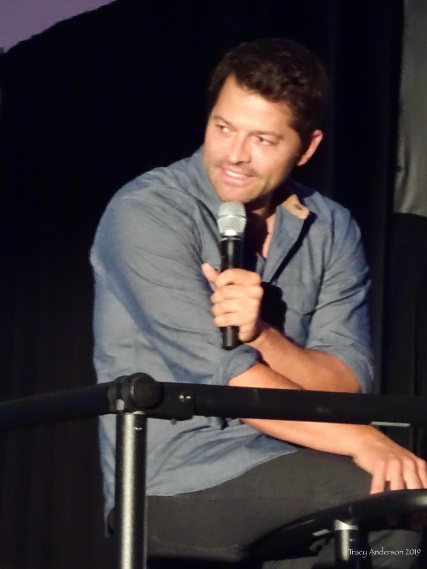 Misha Collins Smile SPNVan Con Aug 23-25 2019