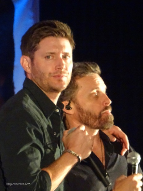 Rob Benedict and Jensen Ackles SPNVan Con Aug 23-25 2019