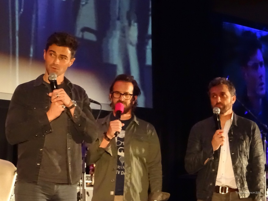 Matt Cohen Richard Speight Jr Rob Benedict Supernatural Convention Vancouver 2019
