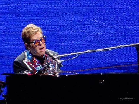 Elton John close up Farewell Tour Edmonton Sept 27 2019