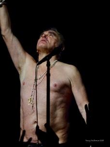 Morrissey no shirt Edmonton October 10 2019