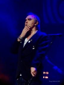 Morrissey Pensive Edmonton October 10 2019