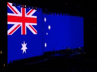 Aus Flag U2 The Joshua Tree Tour Melbourne November 15, 2019