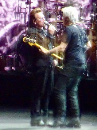 Bono and Adam U2 The Joshua Tree Tour Perth Nov 27 2019