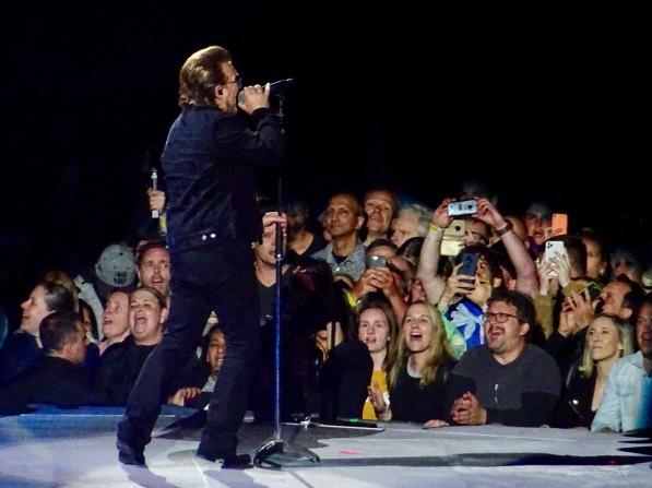 Bono Crowd U2 The Joshua Tree Tour Melbourne November 15, 2019