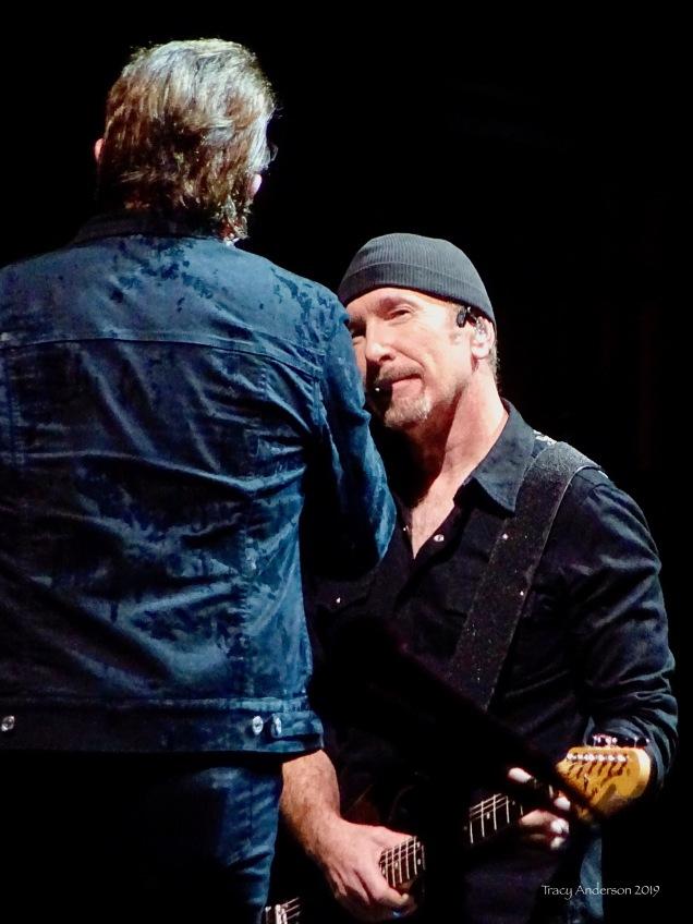 Bono and The Edge U2 The Joshua Tree Tour Sydney November 22, 2019