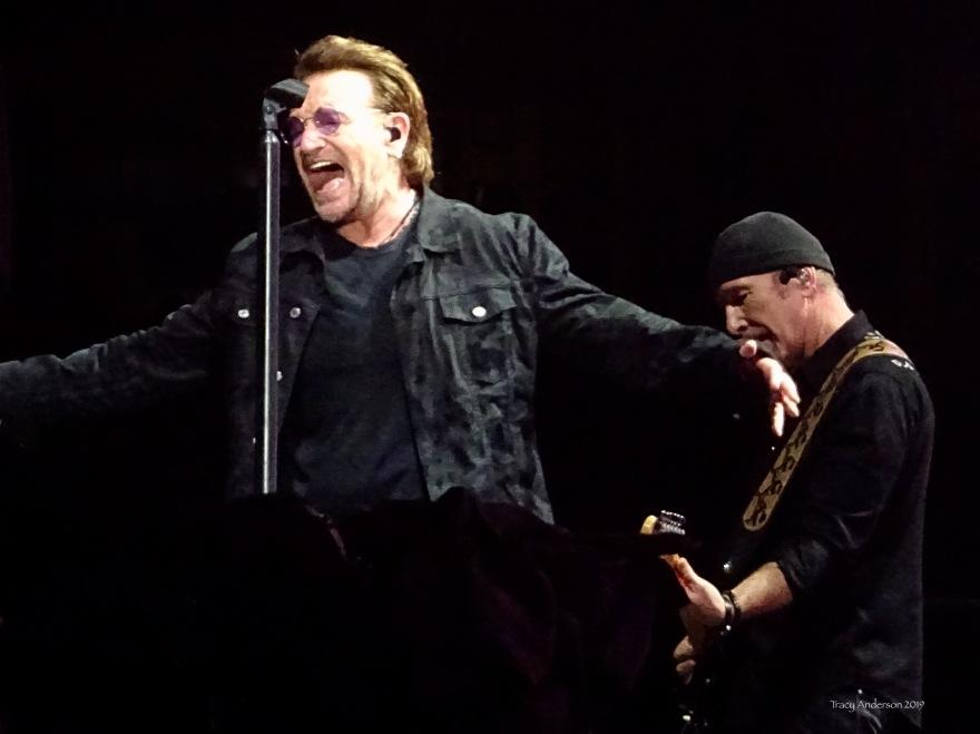 Bono Edge U2 The Joshua Tree Tour Sydney Nov 22 2019