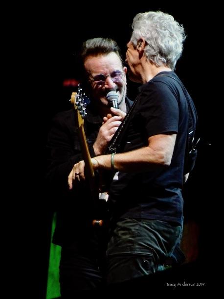 Bono and Adam Clayton U2 The Joshua Tree Tour Sydney November 22, 2019
