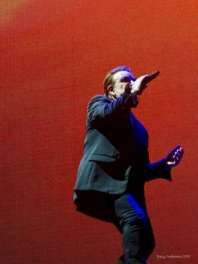 * bono orange U2 The Joshua Tree Tour Sydney Nov 22 2019