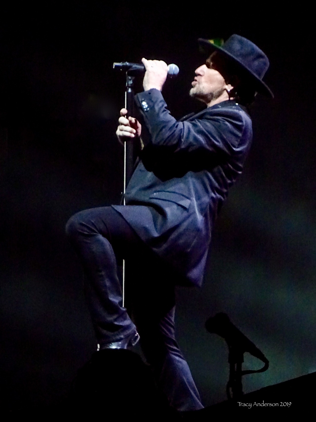 Bono aka The Shadow Man U2 The Joshua Tree Tour Sydney Nov 22 2019