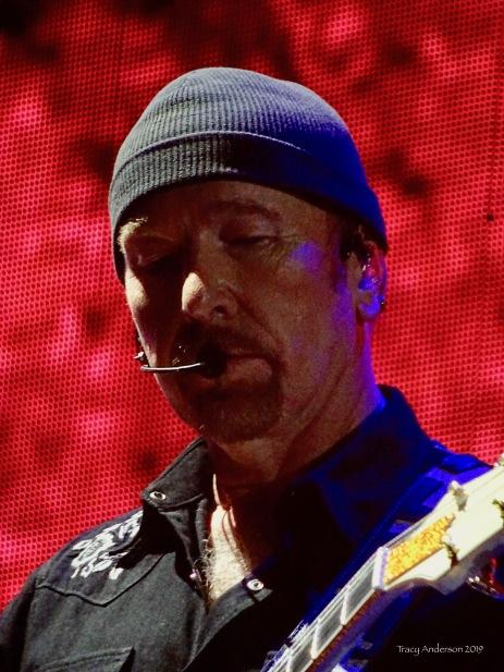 edge moon close up U2 The Joshua Tree Tour Sydney Nov 22 2019