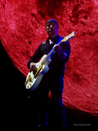 edge moon U2 The Joshua Tree Tour Sydney Nov 22 2019