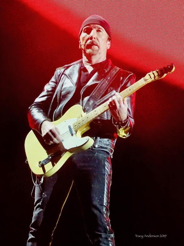 * edge red U2 The Joshua Tree Tour Sydney Nov 22 2019