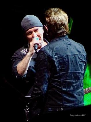 edge talking to bono U2 The Joshua Tree Tour Sydney Nov 22 2019