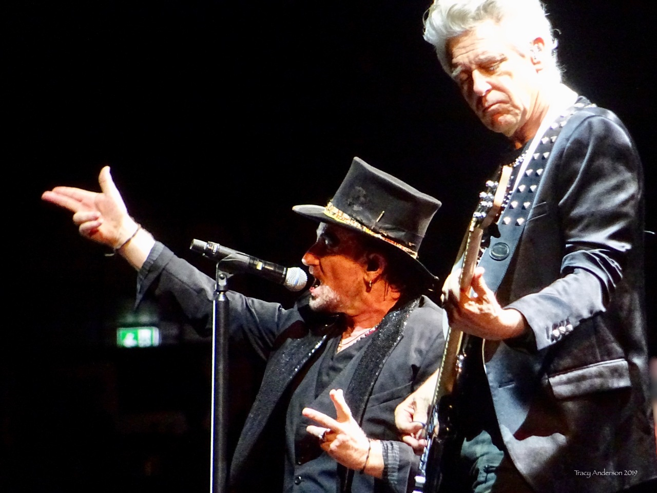 Bono as MacPhisto and Adam U2 The Joshua Tree Tour Sydney Nov 22 2019